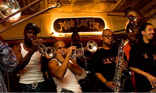4) See Rebirth Brass Band Play at Maple Leaf Bar