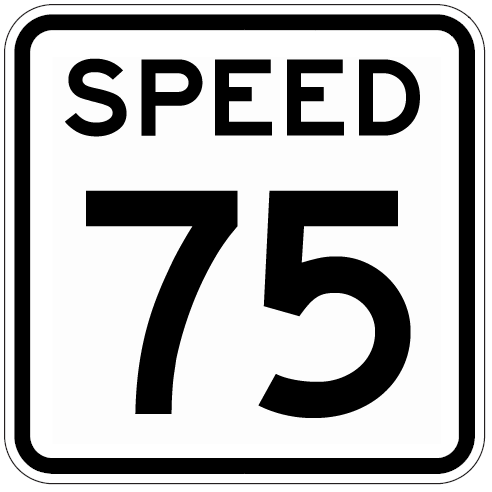8. Tourists who live in big cities often don't realize that speed limits here are higher. On many stretches of freeway it's 75 mph.