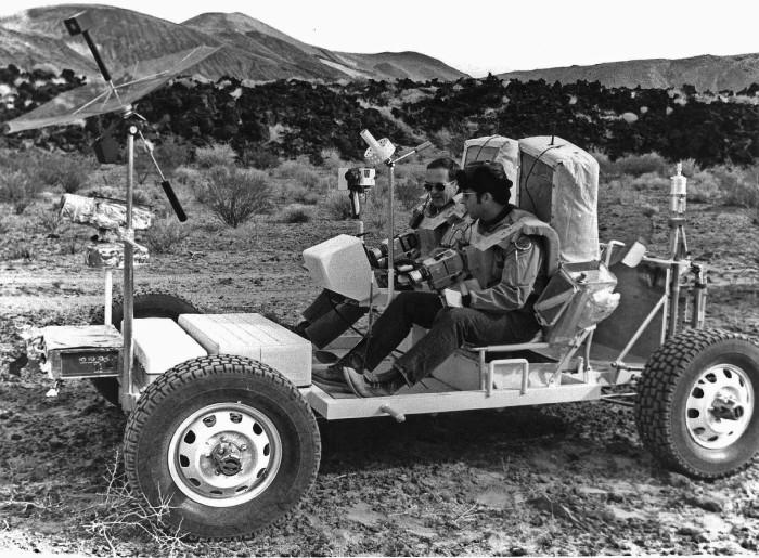 3. Apollo 17 Geologic Exercise, Tonopah, Nevada, 1972