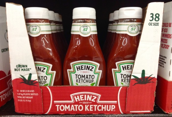3. Sometimes you think ketchup might be a bit spicy.