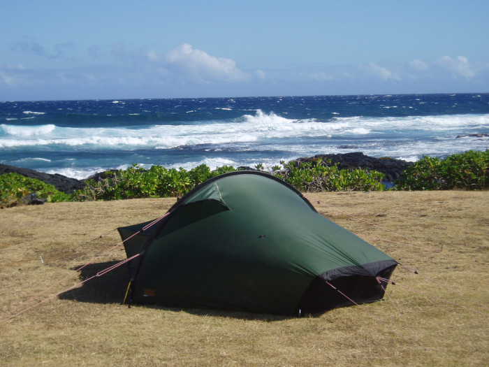 17. And for a cheap adventure, grab a permit and set up camp on your favorite beach!