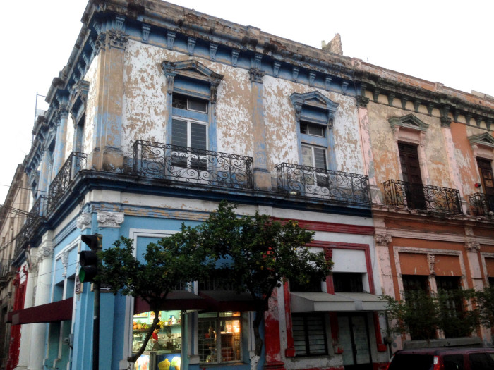 3) Historically, New Orleans, and the French Quarter in particular, was primarily French.