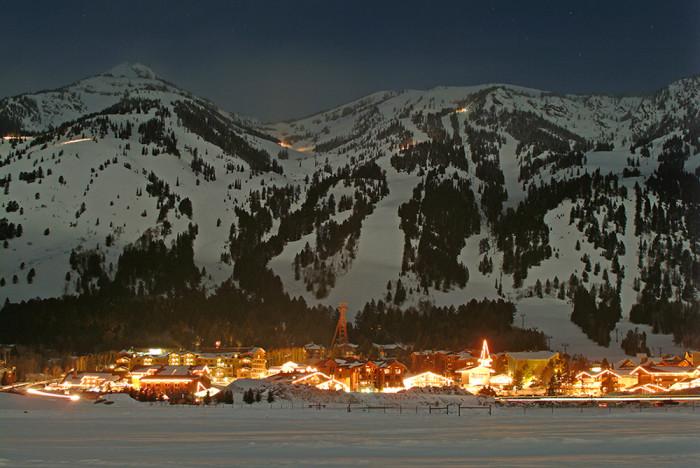 15. Teton Village Nighttime
