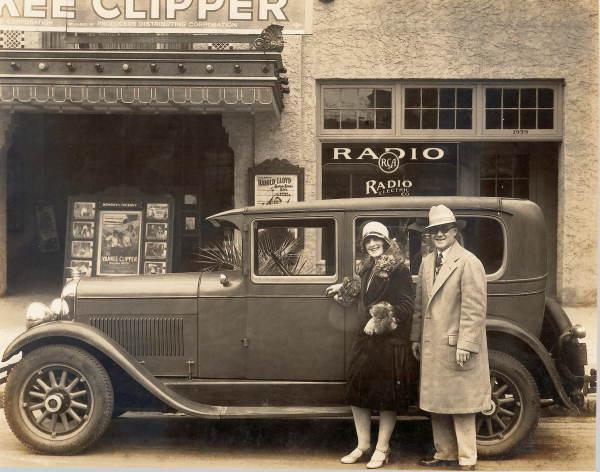 Couple with Marmon Automobile - Jacksonville