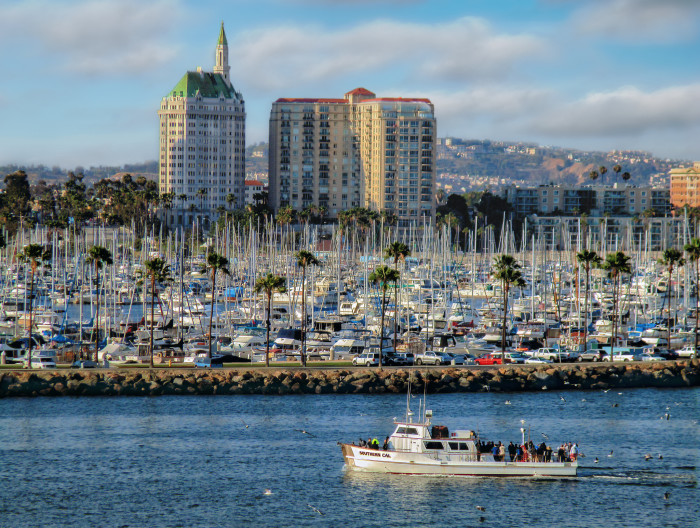 12. Every SoCal movie needs a view of the harbor. How about this one?  Looks picture-perfect to me!