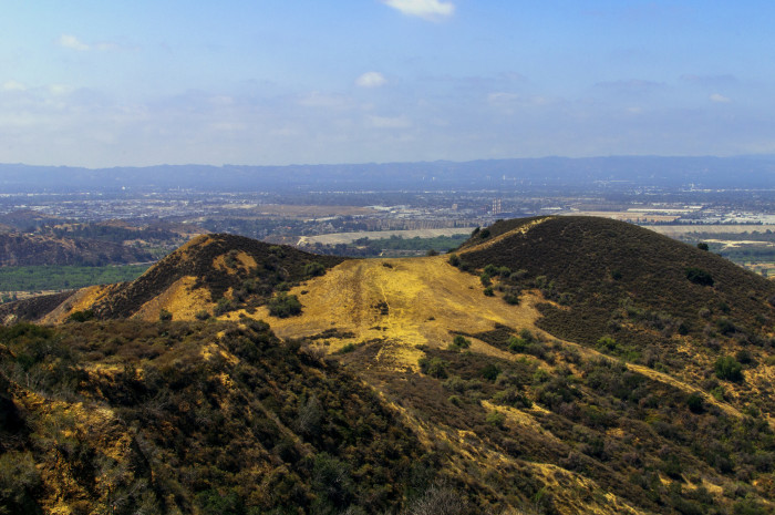 5. The foothills in the mountain areas of  Southern California offer an extraordinary aerial view of the surrounding area that deserve to be on the big screen.