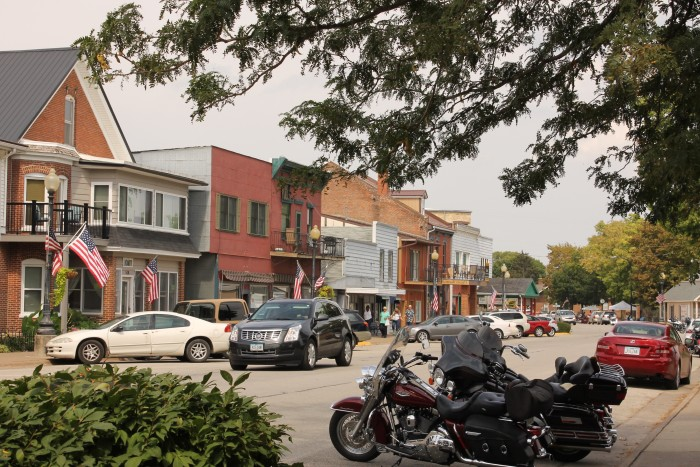 There are many cute little shops that line the street of Guttenberg, and some fun ones to visit are Kann Imports, the Picket Fence Cafe and the Clayton Meat Market.