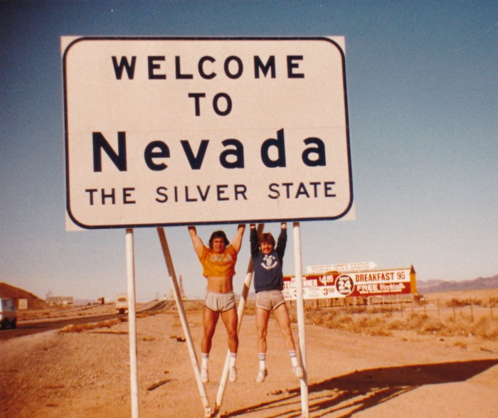 5. Nevada Welcome Sign, Nolan Jerry, 1978