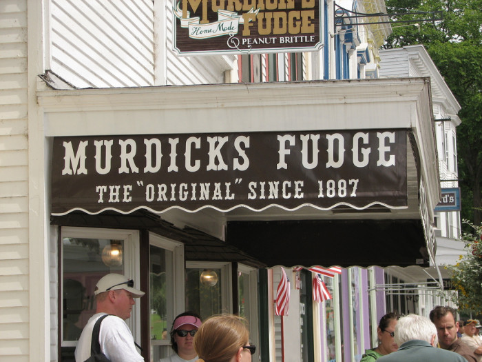 2. But they will learn because they gotta have some of that Mackinac Island fudge.