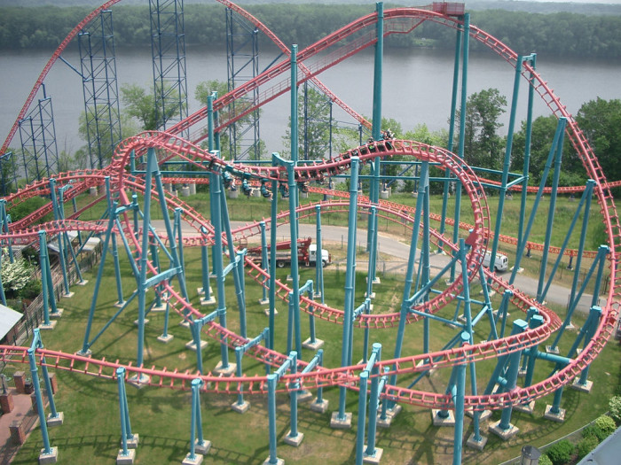 6. Visit Six Flags New England.