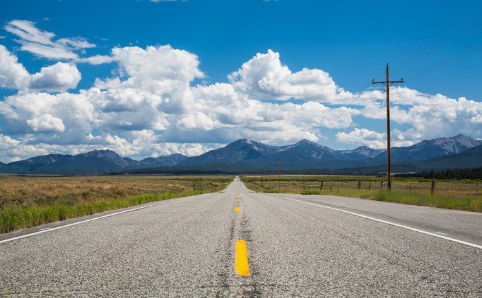 8. The scenic country roads.