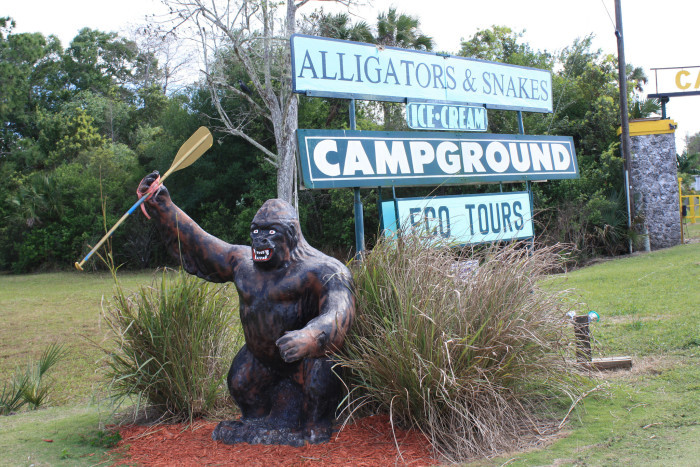 3. Florida has its own version of Bigfoot called the Skunk Ape.