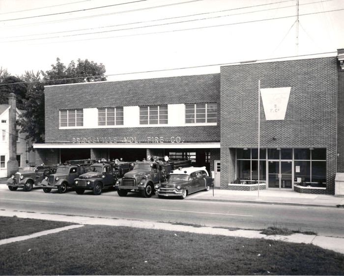 6. Bridgeville Volunteer Fire Company expanded in the early 1950s to keep up with a growing population.