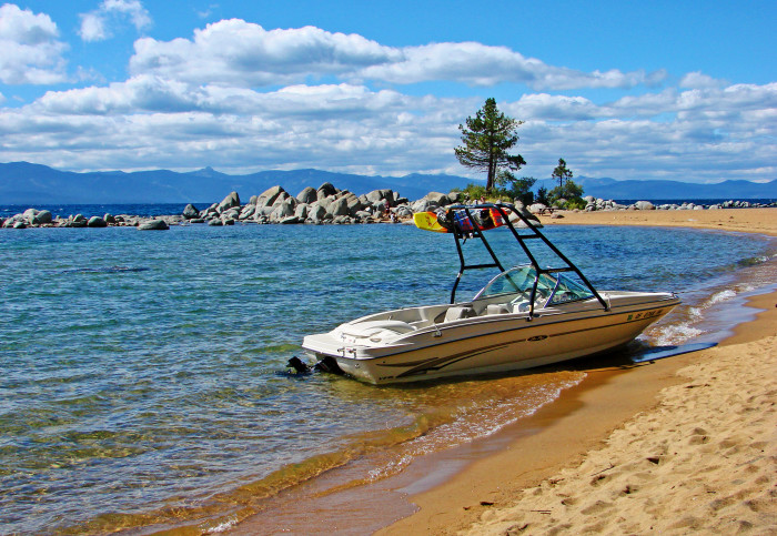 3. Spend a day on beautiful Lake Tahoe.