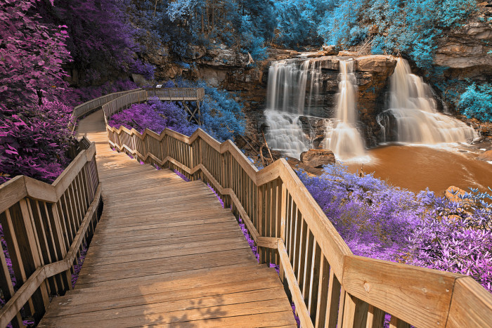 1. Stunning Photos of Blackwater Falls In spring and fall.