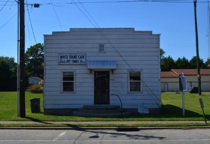 1. The White Front Café, Rosedale