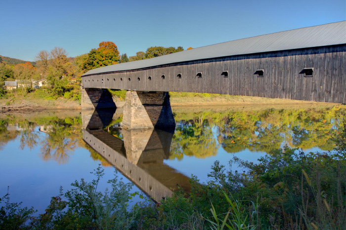 2. The Cornish-Windsor Covered Bridge
