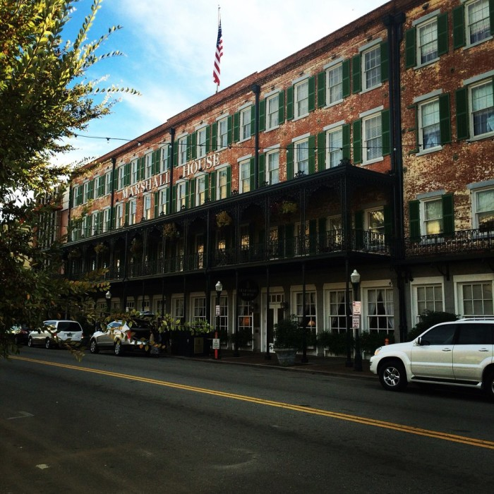 Since opening in 1851, the hotel was used as a hospital three times: Once by the Union Army during the Civil War, and twice for yellow fever epidemics during the 19th century.