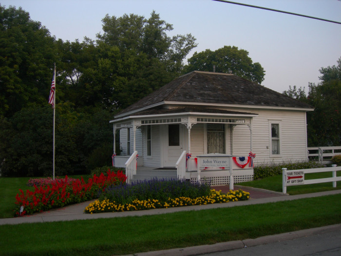 2. John Wayne's Birthplace, Winterset