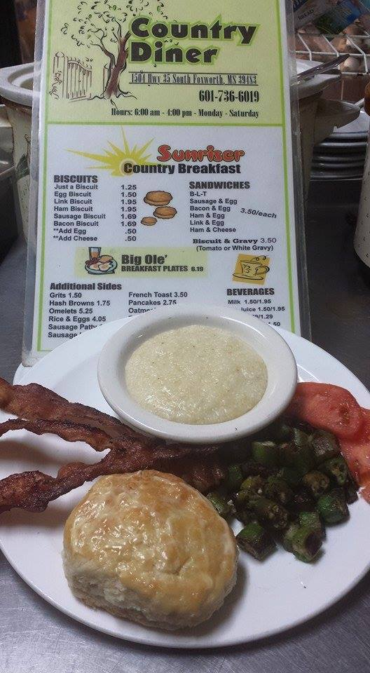 2. Which will of course be followed by a standard Mississippi breakfast.