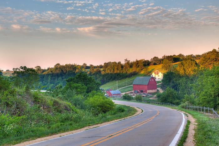 2. Take the scenic route.