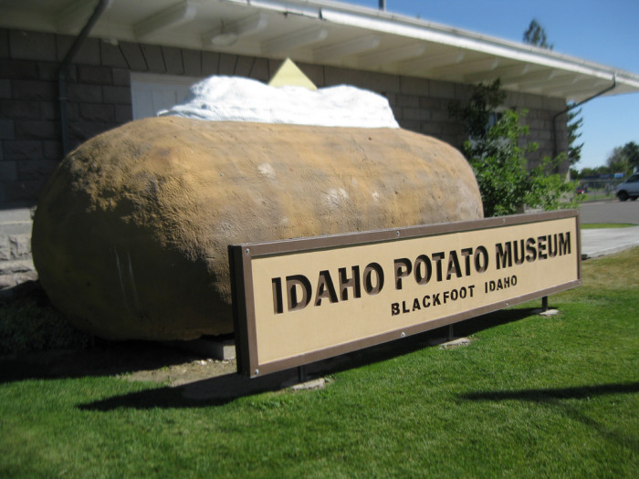 2. They confuse Iowa for the potato state.