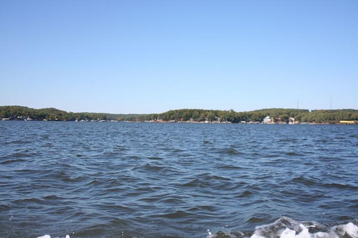 2.Lake of the Ozarks