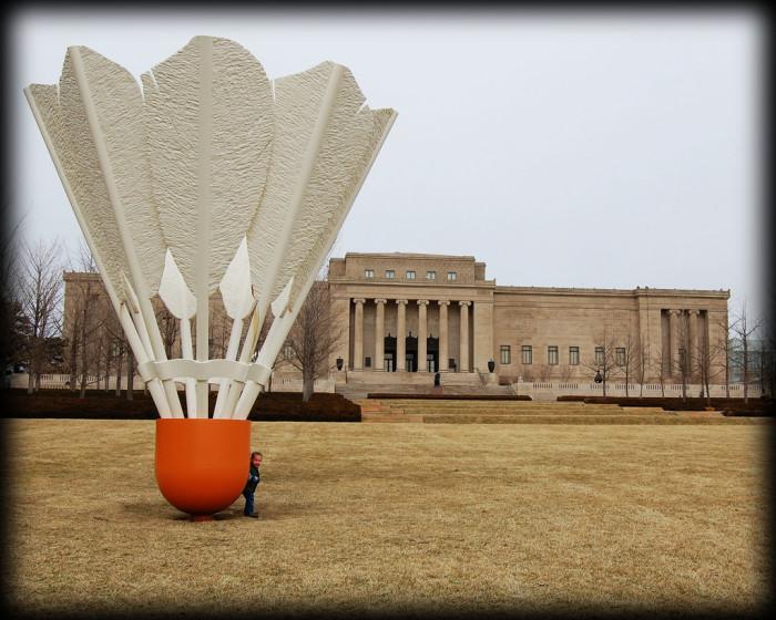 2.Nelson Atkins Museum of Art in Kansas City