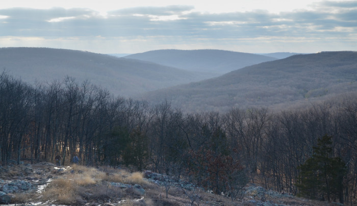 2.	Taum Sauk Mountain State Park,  Middlebrook