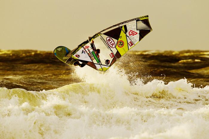 2. Try something new – like windsurfing!