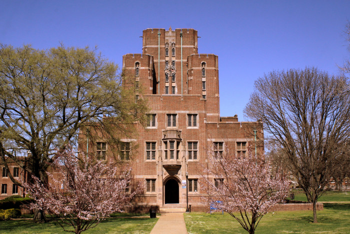4) Here's a shot of Cravath Hall.