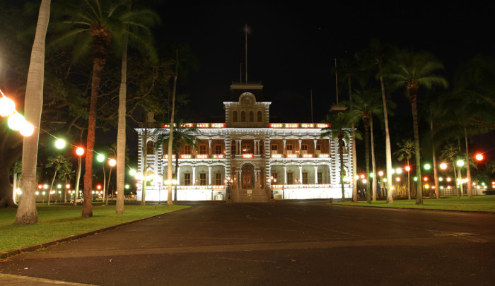 20. Walk the halls of the United States only royal palace – Honolulu's Iolani Palace.