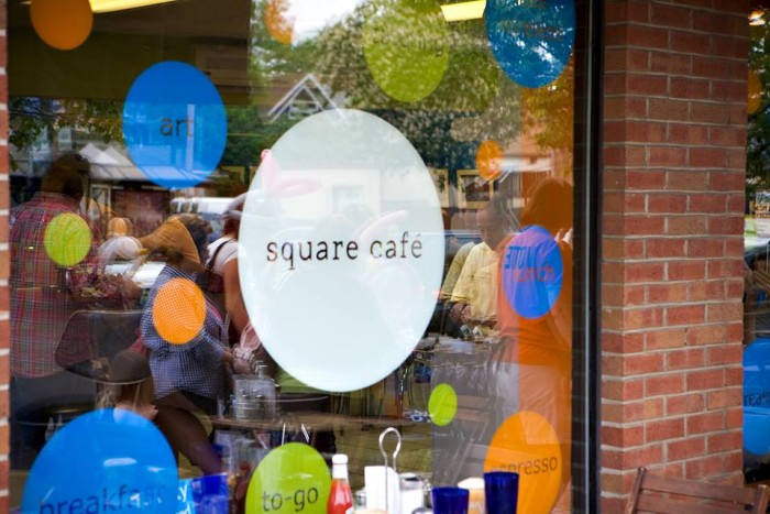 Day 3 Breakfast: Square Cafe, Pittsburgh