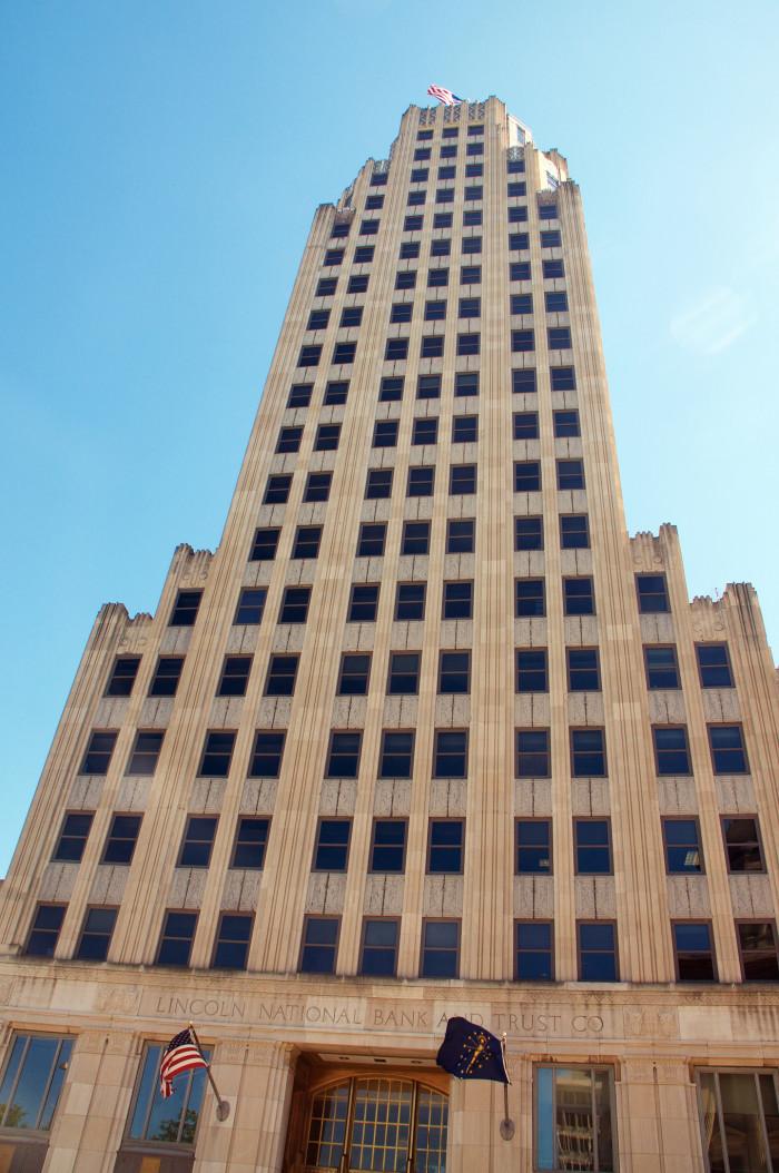 lincoln bank tower fort wayne