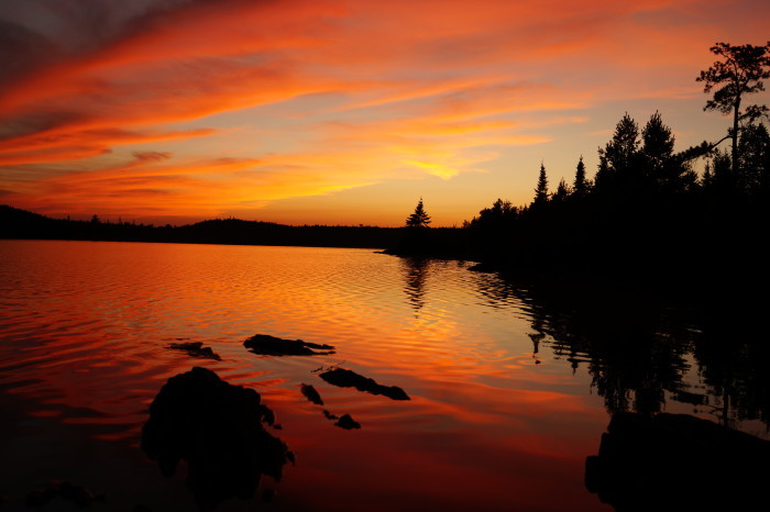 11. Watch the sun set over a lake, or over the Mississippi.