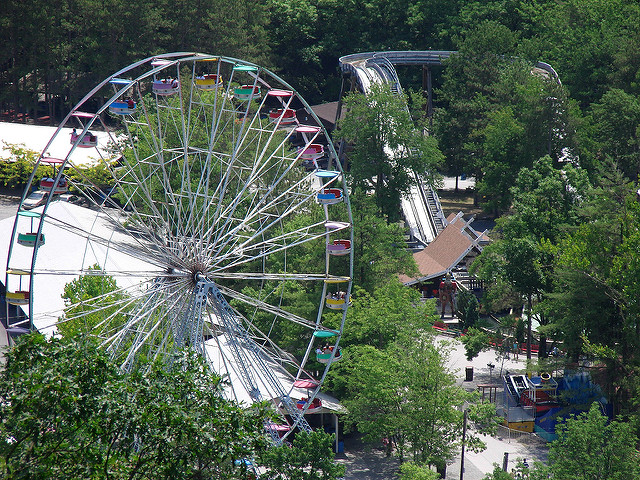 13. Visit an historical, thrilling amusement park.