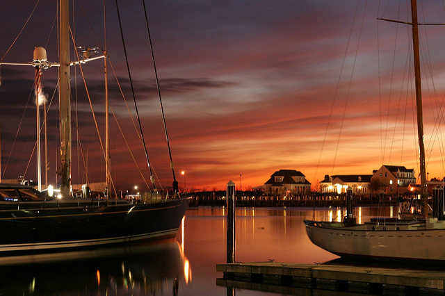 12. The harbors across the state each offer unique opportunities for breathtaking photographs. This one was taken in Newport.