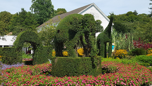 3. Green Animals Topiary, Portsmouth