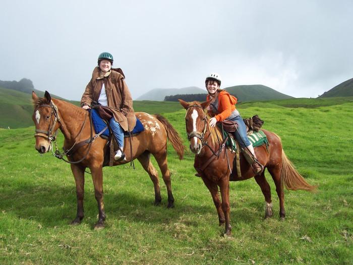 21. Take a horseback riding tour.
