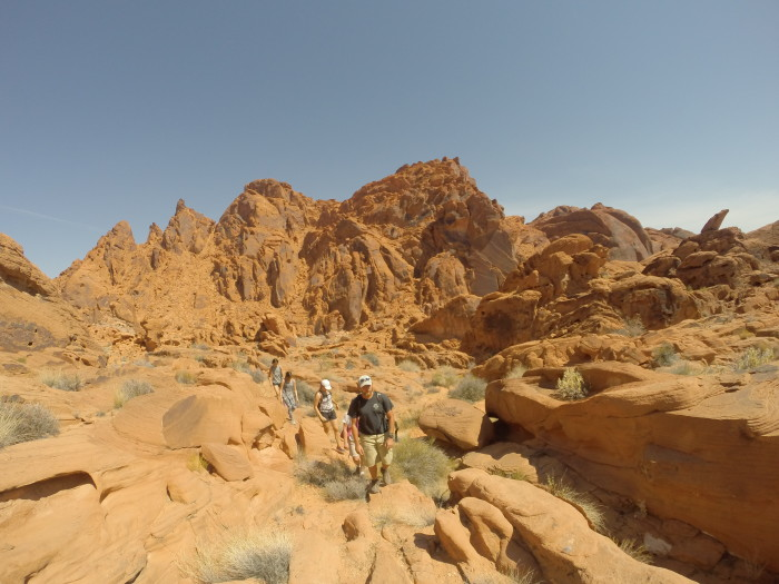 6. Go hiking in Valley of Fire State Park.