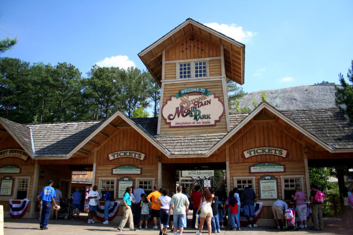 5. Choose to explore one of the many attractions Georgia has to offer...like Stone Mountain.