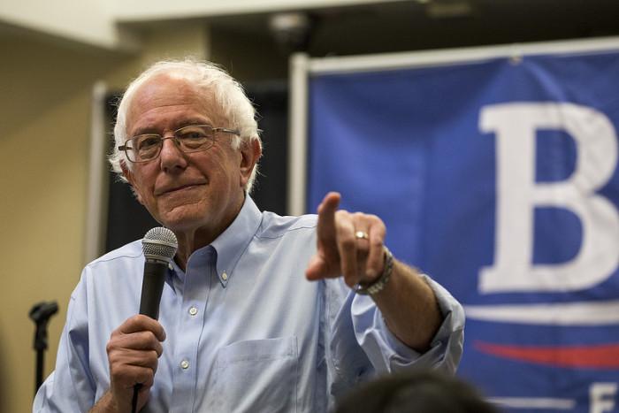 6.  Bernie Sanders