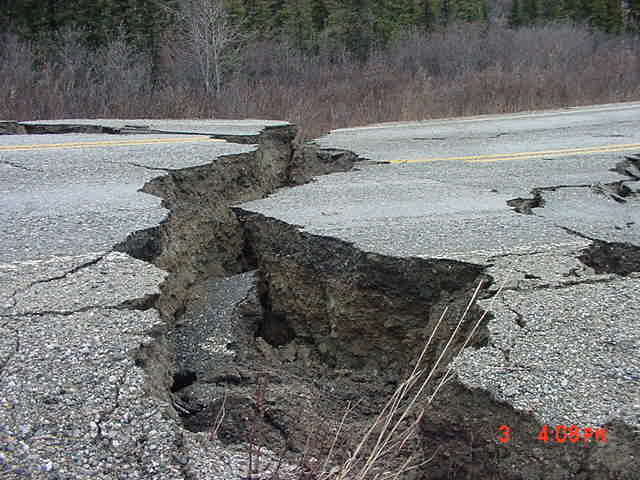 9. Alaska can get some pretty intense earthquakes, too.