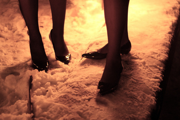 9.  Put your high heels away for the winter.