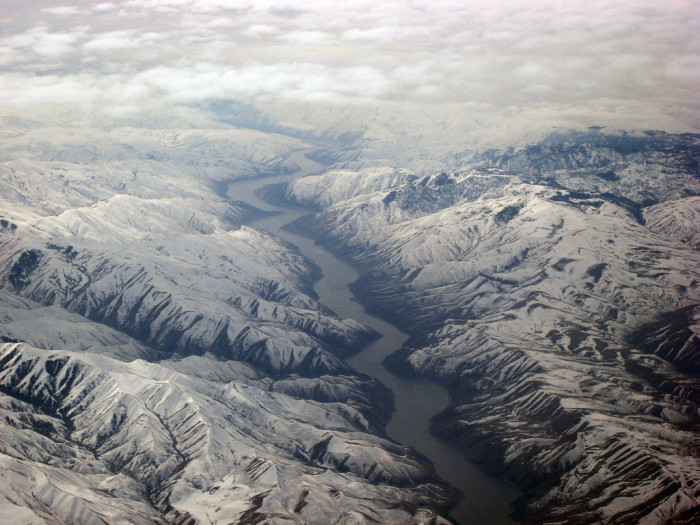14. The Snake River Canyon is clearly the heart of Idaho.