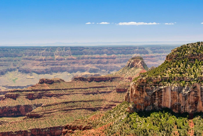 2. Visit the North Rim of the Grand Canyon.