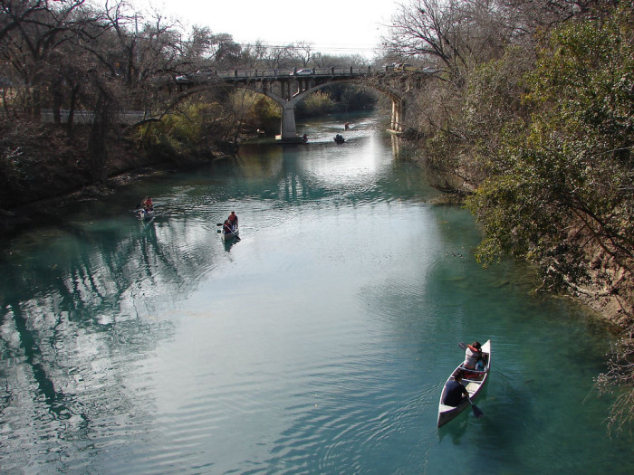 7. People in Austin are lazy - Nope. We just know how to appreciate the details of life. Read a book. Go kayak at one of the most beautiful places in the city.