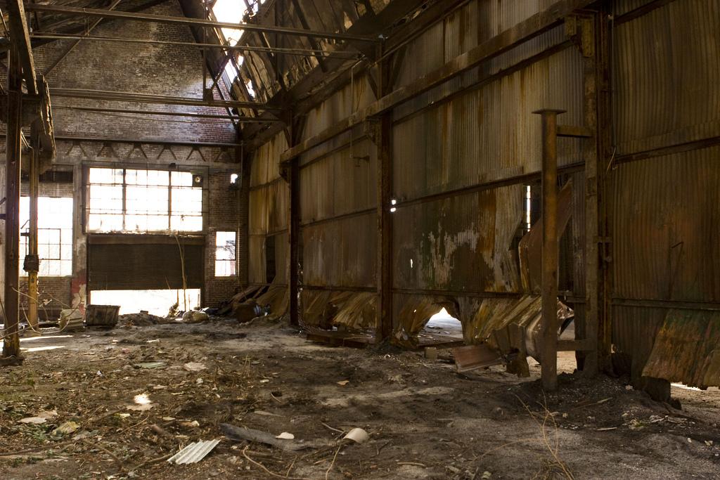 Abandoned Georgia Rail Yard In Georgia