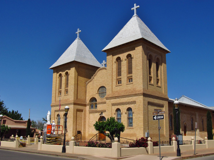 2. Visit one of New Mexico's many churches.