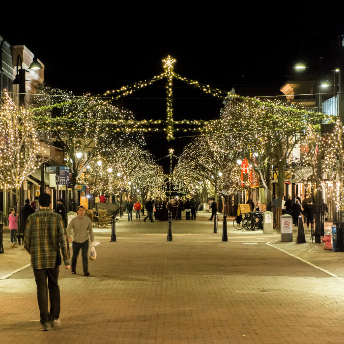 2.  Spend an evening on the Church Street Marketplace in Burlington.